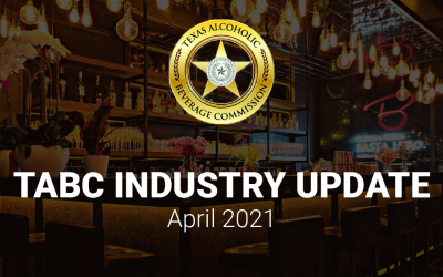 TABC Industry Update – April 2021